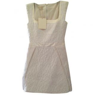 Antonio Berardi Silk White Dress