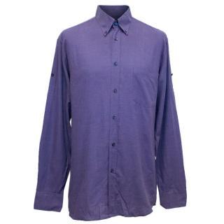 Alexander McQueen Men's Purple Shirt